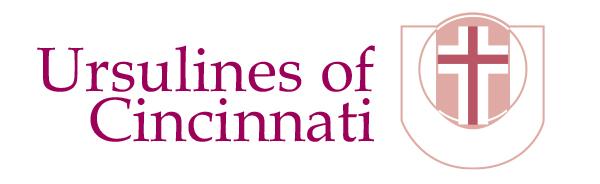 Ursulines of Cincinnati Logo